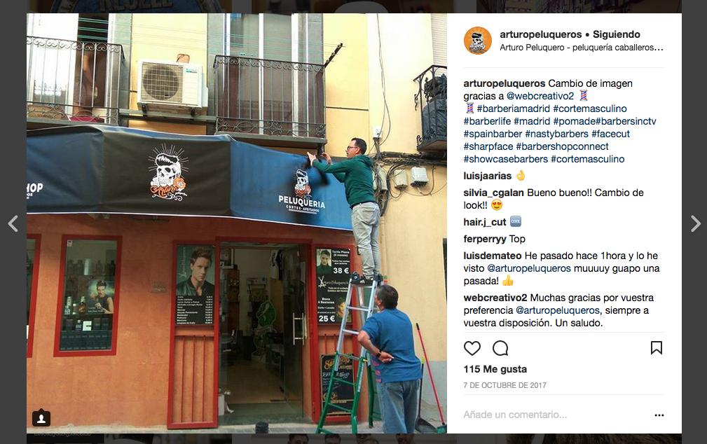 peluqueria de barrio madrid